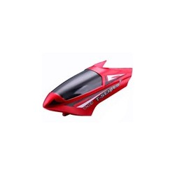 MJX T04 parts Head Cover (red)