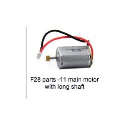 MJX F28 Parts -11 main motor with long shaft