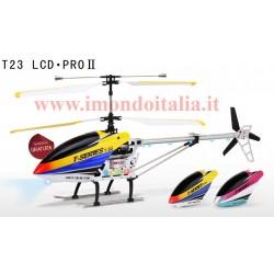 Elicottero T23 - T623 MJX LCD PRO 2 Spedizione Gratis 3.5 Canali Giroscopio