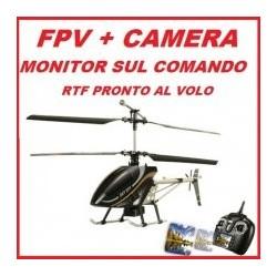 SkySpy 2,4 GHz Elicottero 4 CH Con Trasmissione Diretta