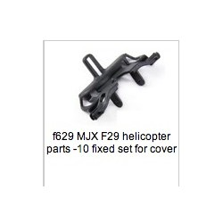 MJX F-series 2.4G F629 F29 Helicopter Parts head cover [Red]