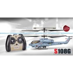 SPEDIZIONE GRATIS Syma S108G Elicottero 3 canali Militare