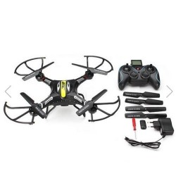 JJRC,  H8C,  DFD,  F183,  2.4G 4CH 6 Axis RC Quadcopter With 2MP Camera RTF