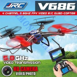 JJRC,  V686, FPV,  2.4G 4CH 6 Axis RC Quadcopter With 2MP Camera RTF