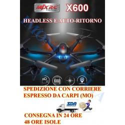 DRONE- ESACOTTERO  MJX  X600  FPV   HEADLESS  MODE  E  AUTO-RITORNO