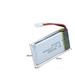 Batteria Lipo 1S 3.7V 1200 mAh X5SC