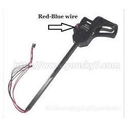 UDI-U818A-parts-08 Whole Leg unit set B (Red and Blue wire)