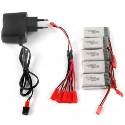 MJX X400 / X800 2 to 5 Pattern Charger  -  EU PLUG