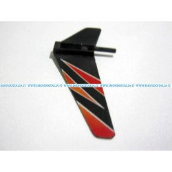 WLTOYS  V911-03, Tail balance wing, Balance stabilizer,   Ricambio, Spare parts
