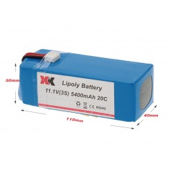 XK  DETECT  X380  BATTERY