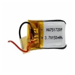 Batteria Lipo 1S 3.7V 150 mAh