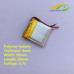 Batteria  3. 7V  70mAh,  mp4, mp4, Navigatori, ecc