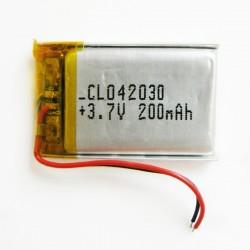 Batteria  3. 7V  200mAh