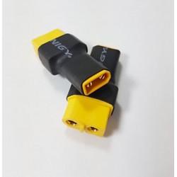 Connettore XT60 Female  Adattatore a  XT30  Male  Mjx Bugs2  B2W