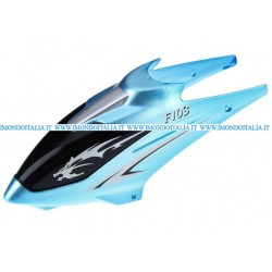 F103-01 Canopy (Blue),  Rc Helicopter, Elicottero Rc,  Ricambi