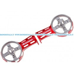F103-02 Side Rotor Case (Red), Rc Helicopter, Elicottero Rc,  Ricambi