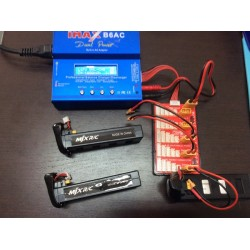 KIT CARICABATTERIE FINO A  3 BATTERIE BUGS 2, B2W, IMAX B6AC, Carica/Scarica/Storage, 1-6 Cells, SPARE PARTS, RICAMBI