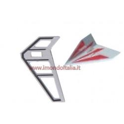 """LishiToys  6010-03r Tail Decoration Red"""" Decorazione Coda Rossa"""""""