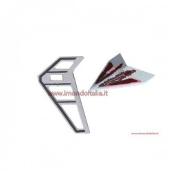 """LishiToys  6010-03r Tail Decoration Black """" Decorazione Coda Nera"""""""