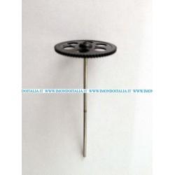 "LishiToys  6010-10 Main Shaft Outer Shaft + Gear "" Albero Esterno con Ingranaggio """