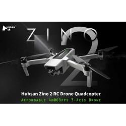 HUBSAN ZINO 2 GPS 6KM  4K GIMBAL A 3 ASSI  33 MINUTI DI VOLO