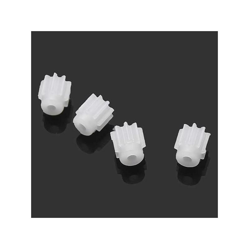 Syma X5C Spare Parts:  Small white gear set (4pcs)