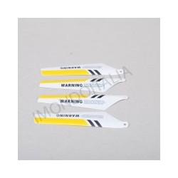 """Pale """"Blade"""" Rotore di Ricambio per Syma S107 Giallo"""