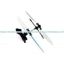 Copter Mini X 6025-1 Main Rotor Head w/ Blade Set Rotore Completo di Pale