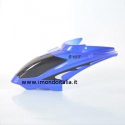 "S107 / S107G Head Cover "" Canopy ""  Syma  Blu"