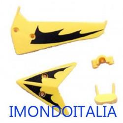 """S107 / S107G  Tail Decoration """" Decorazione di coda di Ricambio """" Syma Giallo"""