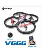 WLtoys V666 RC Quadcopter Spare Parts   Ricambi Droni